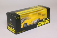 Solido 87; Alpine A442 Turbo; Winner, Le Mans 1978; Pironi & Jaussaud