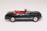 Minichamps 5030; Volkswagen Karmann Ghia Cabriolet; Open Top, Black