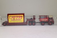 Atlas Editions 4 654 101; Foden Ballast Tractor; Low Loader, Carters Gallopers, Container Load