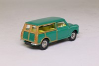 Dinky Toys 197; Morris Mini Traveller; Norev, Green, Yellow Seats