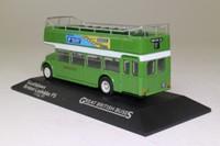 Atlas Editions 4 655 102; Bristol Lodekka FS Bus; Open Top: Southdown; Rt 17 Portslade Stn