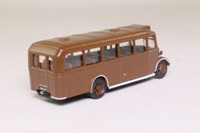 Oxford Diecast 76OWB002; Bedford OWB Coach; Ministry of Supply, Brown