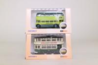 Oxford Diecast; Bargain Box; 6 Assorted N Gauge Buses
