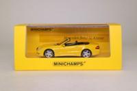 Minichamps 436 037530; 2008 Mercedes-Benz SL Class Convertible; Open Top, Yellow
