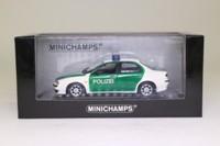 Minichamps 430 120790; 1997 Alfa Romeo 156; Polizei, German Police