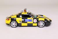 Minichamps 400 065690; 2007 Porsche Cayman S; Hanover Airport; 'Follow Me'