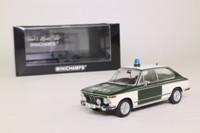 Minichamps 400 021190; 1972 BMW 1802 Touring; Polizei, German Police