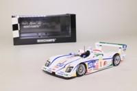 Minichamps 400 051301; Audi R8; 2005 Sebring 12h Winner; Kristensen/Lehto/Werner; RN1