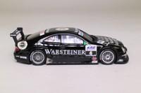 Minichamps 400 013106; Mercedes Benz CLK DTM; 2001, Team Warsteiner AMG; M Faessler; RN6