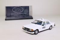 Trax TR84E; 1979 Ford Falcon GL; Black & White Top Taxi