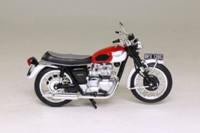 Atlas Editions 4 658 101; 1967 Triumph Bonneville T120; Red & White
