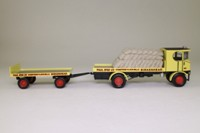 Corgi Classics 80002; Sentinel Steam Wagon; Flatbed & Trailer, Paul Bros, Birkenhead, Sacks Load