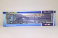 Corgi Classics 75803; MAN F90 Artic; Curtainside Trailer: Gallacher Bros, Co Durham