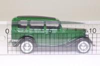Solido 32; 1936 Ford V8 Sedan; Dark Green, Black Chassis