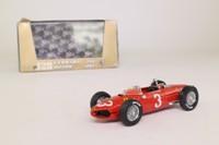 Brumm R123; 1961 Ferrari 156 Formula 1; Red, RN3