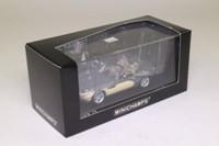 Minichamps 431 028744; 2001 BMW Z8 Roadster; Stratusgrau, Elfenbein