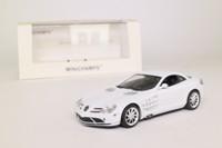 Minichamps 436 033020; 2003 Mercedes-Benz SLR McLaren; White, Linea Bianca