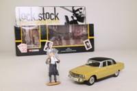 Corgi Classics CC01901; Lock, Stock & Two Smoking Barrels Rover 3500 V8; Almond, Black Roof
