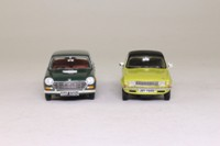 Vanguards AU2002; Austin Centenary 2 Pce Set #1; Allegro in Harvest Gold & 1800 in Slate Grey