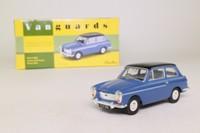 Vanguards VA11206; Austin A40 Farina; Saloon, Ocean Blue & Black