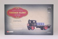 Corgi Classics 80004; Sentinel Steam Wagon; Flatbed, Wynns, Oil Drum Load