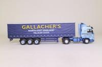Oxford Diecast 76S143003; Scania 113 Truck; Artic Curtainside; Gallacher's
