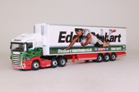 Oxford Diecast SHL14FR; Scania R Cab; Fridge Trailer, Eddie Stobart Superleague: Widnes Vikings