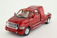 Motor Max 73100; Ford F-650 Super Crewzer Pickup; Metallic Red