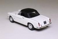 Atlas Editions 4 656 104; 1965 Fiat 1500 Cabriolet; White, Black Hood