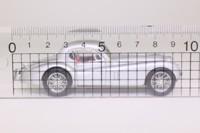 Brumm R105; Jaguar XK120 Hardtop; Silver Metallic