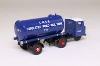 Oxford Diecast 76MH018; Scammell Mechanical Horse; Tanker Trailer, LNER