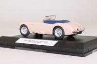 Oxford Diecast AH1002; 1953 Austin-Healey 100 BN1; Coronet Cream