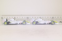 Minichamps 402 092223; Brawn GP 2 Car Set; 2009 Australian GP 1-2 Finish; Jenson Button & Rubens Barrichello