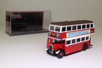 Corgi OOC 43903; Leyland Utility Bus; London Transport; Rte 10 Woodford Bridge, Aldgate, Leytonstone