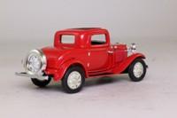 del Prado; 1932 Ford 3 Window Coupe; Red