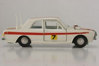 Dinky Toys 205; Ford Cortina MkII Lotus; Monte Carlo Rally 1968