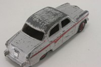 Dinky Toys 176; Austin A105 Westminster; Grey With Red Flash, No Windows, Painted Hubs