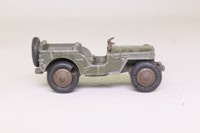 Dinky Toys 80B; Hotchkiss Willys Jeep; Military Drab