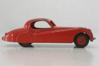 Dinky Toys 157; Jaguar XK120; Red, Red Painted Hubs