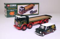 Eddie Stobart Foden FG 8 Wheel Flatbed & Mini Van Set