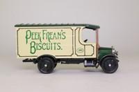 Corgi Classics C841; 1929 Thornycroft Van; Peek Freans Biscuits