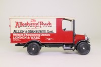 Corgi Classics C840; 1929 Thornycroft Van; Allenburys Foods for Infants