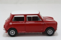 98139 - Mini Cooper - Red with white roof