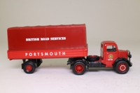 Corgi Classics 97329; Bedford O Series Articulated; Dropside Tilt Trailer, British Road Services, Portsmouth