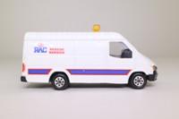 Corgi Classics 91655; 1992 Ford Transit Van; RAC, White