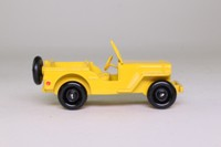 Atlas Dinky Toys 24M; Civilian Jeep; Yellow