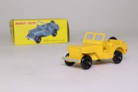 Atlas Dinky Toys 24M; Civilian Jeep; Yellow
