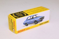 Atlas Dinky Toys 1424G; Renault 12 Gordini; Blue, White Stripes