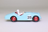 Atlas Dinky Toys 111; Triumph TR2, Competition Finish; Light Blue, Red Interior & Hubs; RN25