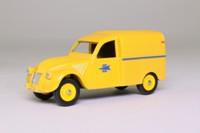 Atlas Dinky Toys 560; Citroen 2CV Van; PTT, French Post Office